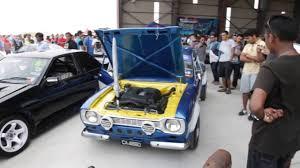 kereta lexus malaysia ford escort mk 1 1uz v8 revving hard retro havoc malaysia 2014