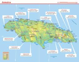Map Jamaica Lonely Planet Jamaica Travel Guide Amazon Co Uk Lonely Planet