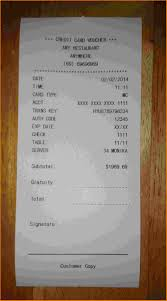 Restaurant Expense Report by Restaurant Receipt Maker Thebridgesummit Co