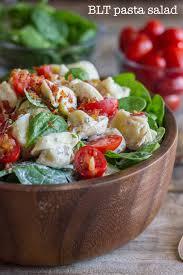 lovely little kitchen blt pasta salad lovely little kitchen