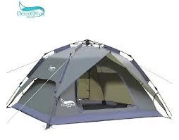 desert tent desert fox outdoor tent 3 4 person multiplayer automatic