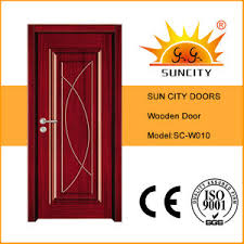 china modern bedroom wooden doors design sc w010 china wooden