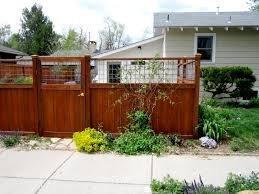 fence ideas for small backyard outdoor landscaping fresh wooden stockade backyard fence ideas