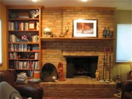 Fireplace Mantels With Bookcases Do It Yourself Fireplace Remodels