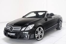 convertible mercedes black the cars brabus does the new mercedes benz e class convertible