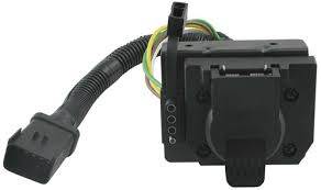 location of trailer wiring conections on a 2005 dodge durango