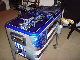 Dallas Cowboys Drapes by Dallas Cowboys 80qt Ice Chest I So Want This Dallas Cowboys