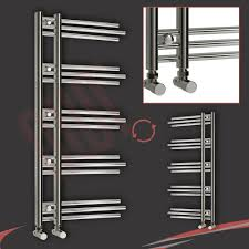 Chrome Shelves For Bathroom by Designer Heated Towel Rails For Bathrooms Home Design Ideas
