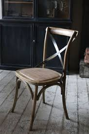 Cross Back Bistro Chair Annabel Astor Our Oft Imitated Camargue Chair Is Something Of A