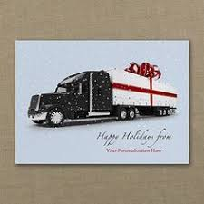 18 wheel sleigh trucking company cards http
