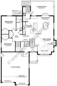 bi level house floor plans plan 8963ah split level home plan living rooms kitchens and