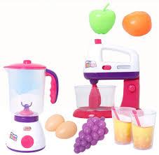 mixer kinderk che plasitc spielhaus spielzeug entsafter mixer obst miniature küche