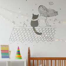 sticker chambre fille stickers chambre enfant fille sur une branche
