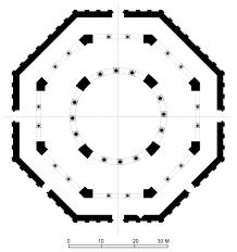 qubba al sakhra floor plan of mosque archnet