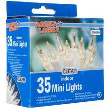 clear bulbs white cord 35 bulb mini indoor light set hobby