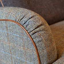 buy tetrad harris tweed lewis petite 2 seater sofa bracken tan