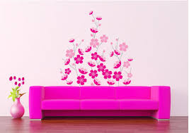 pink sakura wall art decor sticker romantic flowers wallpaper pink sakura wall art decor sticker romantic flowers wallpaper mural poster bedroom living room decoration diy