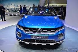 new vw t roc concept to debut at 2017 geneva motor show