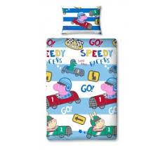 Peppa Pig Single Duvet Set Children U0027s Duvet Cover Sets Childrens Bedding Yorkshire Linen