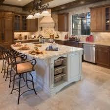 Mixed Wood Kitchen Cabinets Photos Hgtv