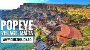 popeye village popeye village malta travel vlog owl city good time youtube