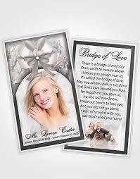 free funeral card templates free funeral program templatememorial