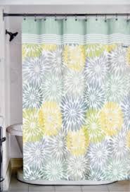 Grey Green Shower Curtain Bathroom Color Shower Curtain X Yellow And Green Bathroom