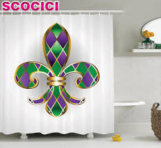 popular bathroom set accessories with shower curtain buy cheap