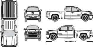 Vehicle Outline Templates vehicle templates vehicle wraps vehicle outline collection