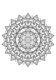 Mandalas Coloring Pages For Adults Justcolor Free Coloring