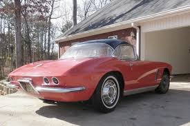 corvette project for sale parked since 1976 no reserve 1962 chevrolet corvette project
