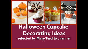 Halloween Decorated Cupcake Ideas Halloween Cupcake Decorating Ideas Youtube
