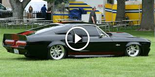 1968 ford mustang black 1968 ford mustang fastback black mamba cars zone