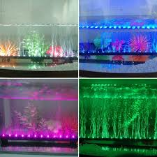 color changing led fish tank lights colour changing led aquarium fish tank airstone bubble light