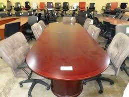 Mahogany Boardroom Table Used Office Tables In Atlanta Georgia Ga Furniturefinders