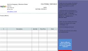layout template en français basic service invoice template in french