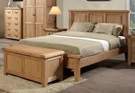 Bed Frame Wood Somerset Oak Wooden Bed Frame Light Wood Wooden Beds Beds