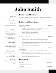 1 page resume exles professional one page resume template pages one page resumes