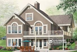 house plans with walk out basement plan of the week 4 bedroom home with bonus bachelor suite