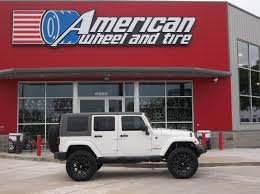 white land rover lr4 with black wheels blog american wheel and tire part 23