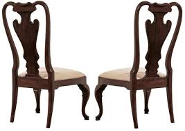 american drew cherry grove splat back side chair set of 2