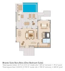 brando suite bora bora one bedroom suite