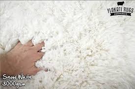 Flokati Wool Rug Flokati Wool Rug Snow White Made In Greece Shag Greek Large