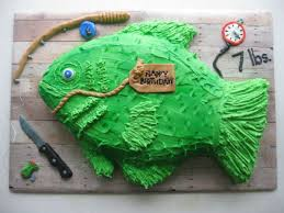 fish birthday cakes top 25 best fish birthday cakes ideas on fishing
