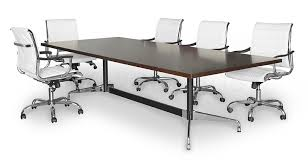 Black Boardroom Table Boardroom Table T Space Legs Polished Finish Fast Delivery