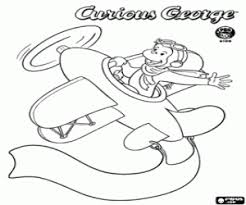 curious george coloring pages printable games