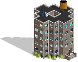 apartment cartoon