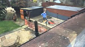 Backyard Concrete Slab Laying New Concrete Slab For Garage Youtube