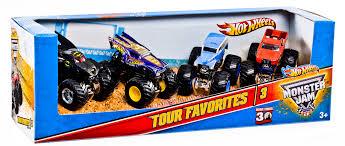 buy wheels monster jam trucks wheels monster jam tour favorites 4 car pack shop