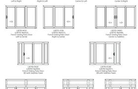Patio Door Sizes Standard Door Size Large Size Of Patio Standard Sliding
